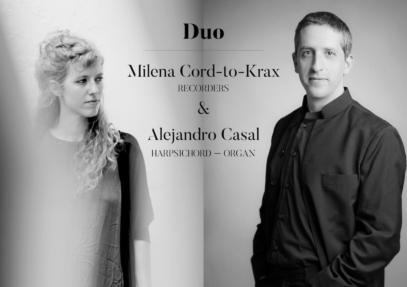 Milena Cord-to-Krax & Alejandro Casal Duo