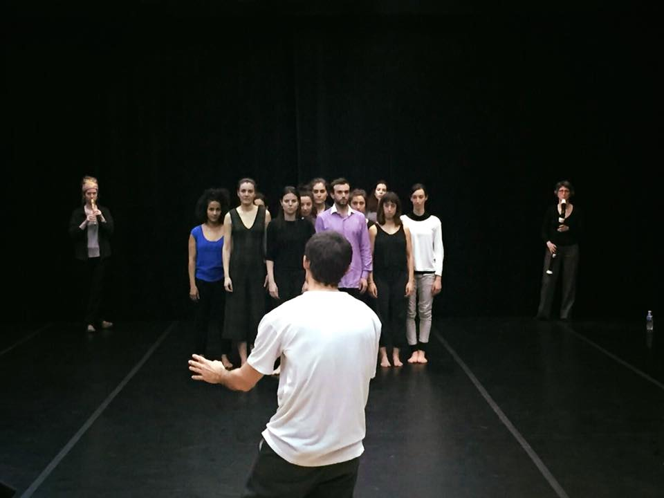 Rehearsal of 'Ya sabía que debía haber algún error'